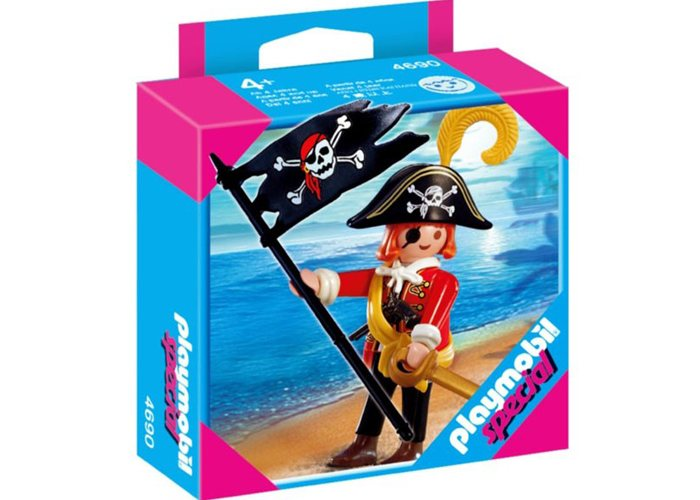 Playmobil 4690 Pirata con bandera playmobil