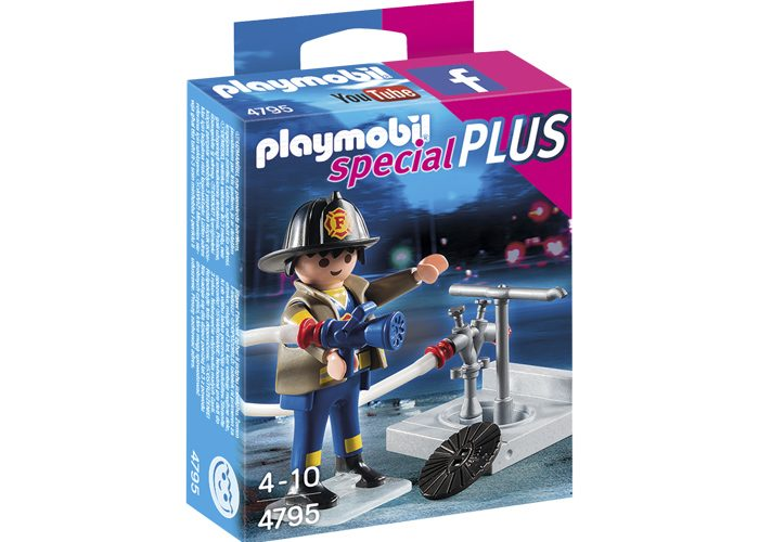 Playmobil Special Plus Bombero  playmobil