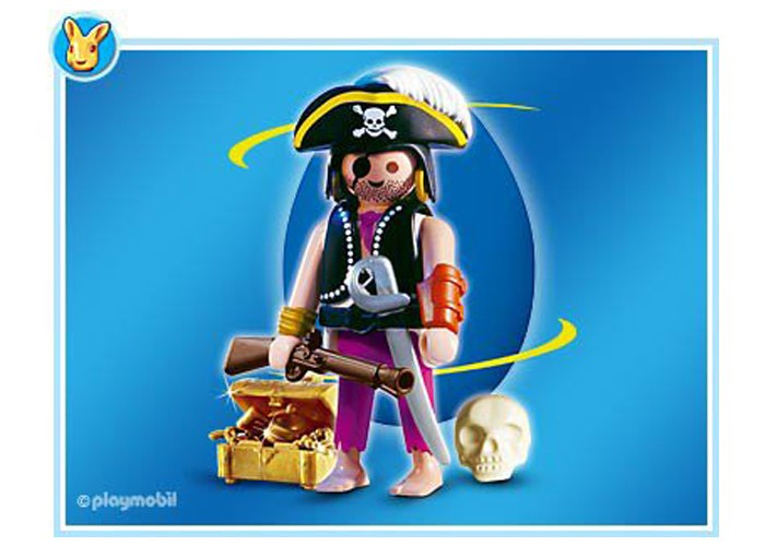 Playmobil 4917 Pirata con trabuco playmobil