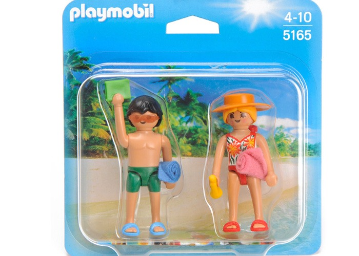 Playmobil Duo Pack Bañistas playmobil