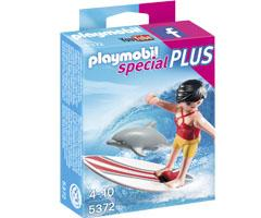Playmobil Special Plus Surfera con Delfín playmobil