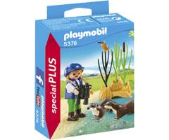 Playmobil Special Plus Niño con nutrias playmobil