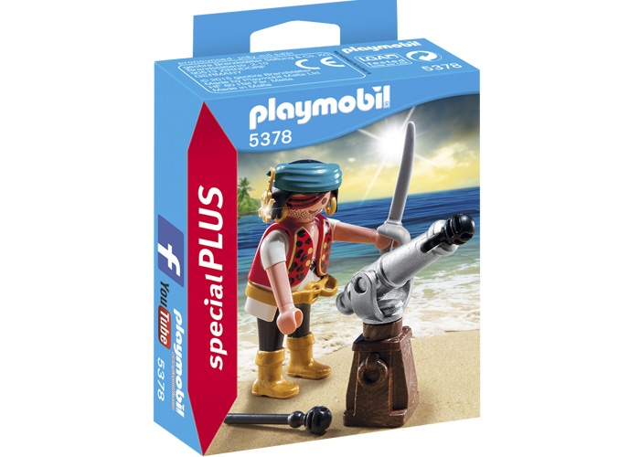 Playmobil Special Plus Pirata con cañon playmobil