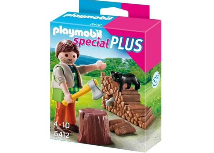 Playmobil Special Plus Leñador playmobil