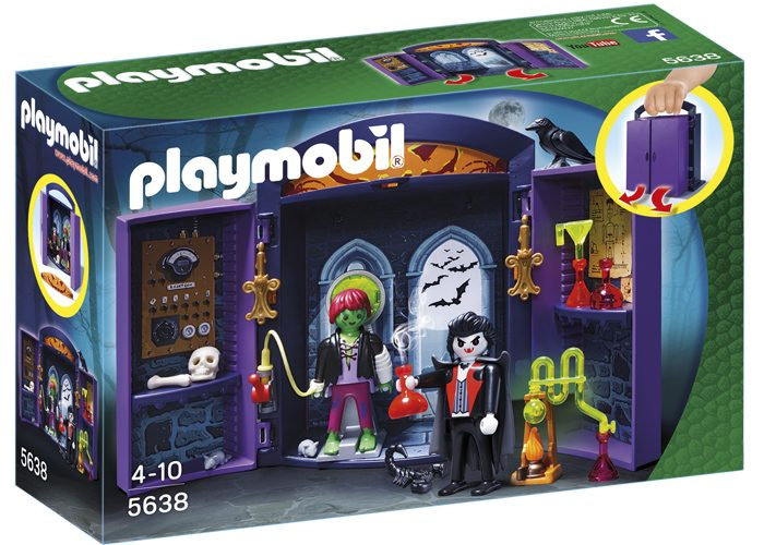 Playmobil Maletín Fantasmas Halloween playmobil
