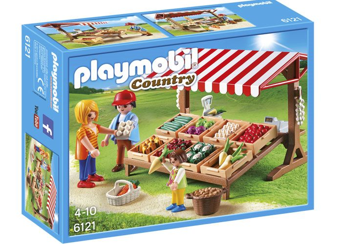 Playmobil Puesto de verduras Country playmobil