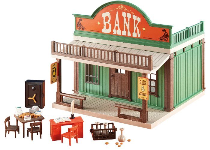 Playmobil 6478 Banco Oeste playmobil