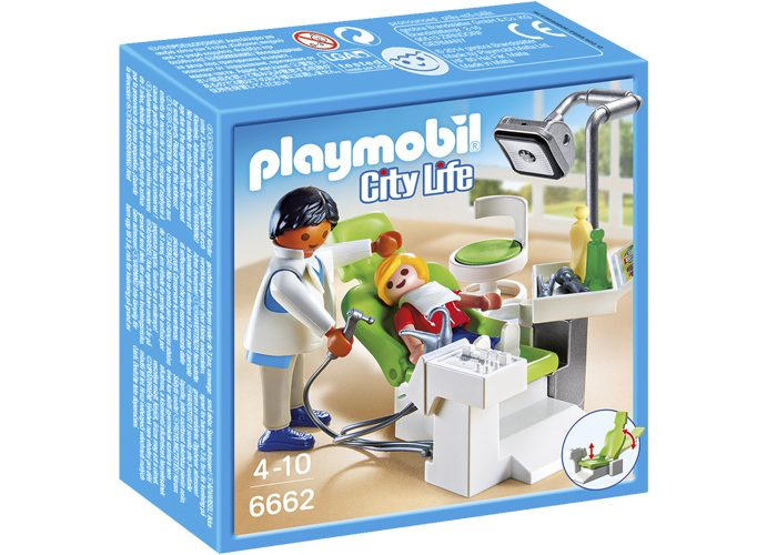 Playmobil Dentista con paciente playmobil