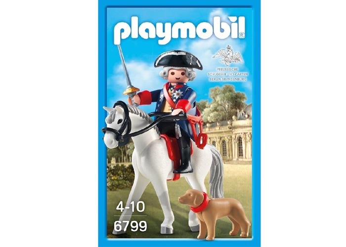 Playmobil 6799 Exclusivo Federico el Grande playmobil