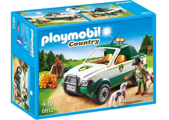 Playmobil 6812 Coche de guardabosques playmobil