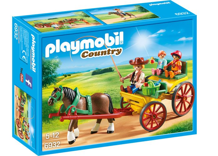 Playmobil Coche de caballo Country playmobil
