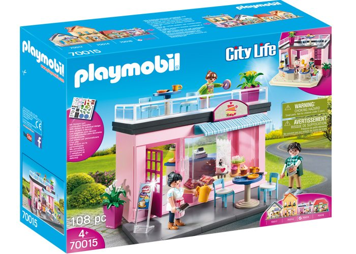 Playmobil 70015 Mi Café favorito playmobil