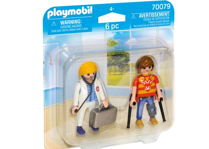 Playmobil 70079 Paciente y Medico playmobil