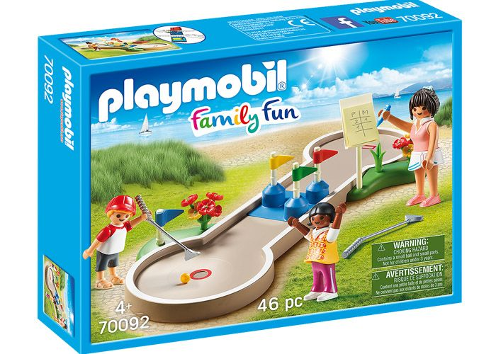 Playmobil 70092 Minigolf Family Fun playmobil