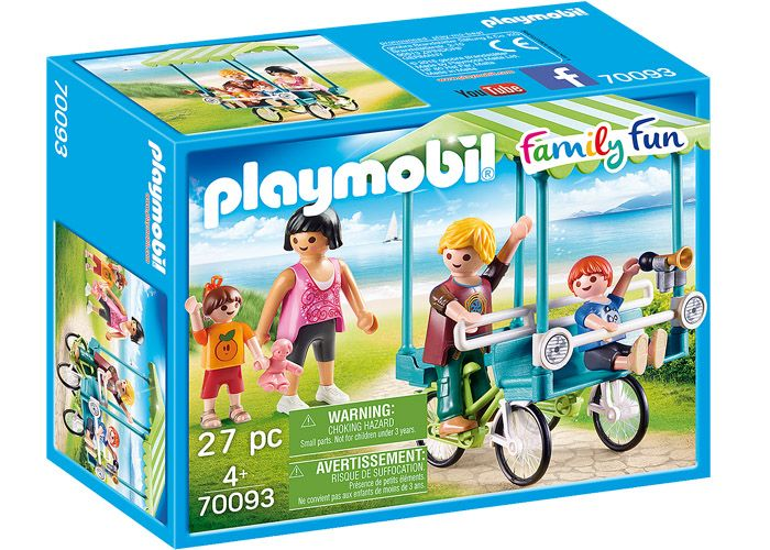 Playmobil 70093 Bici Familiar playmobil