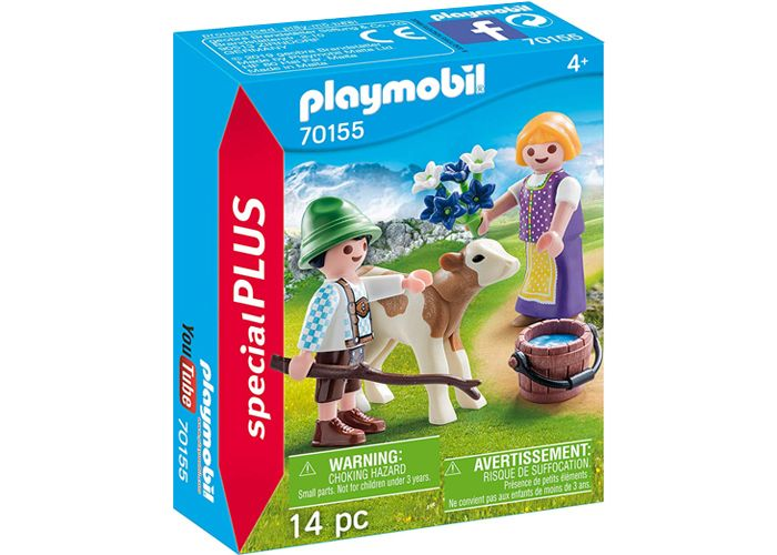 Playmobil 70155 Niños con ternero playmobil