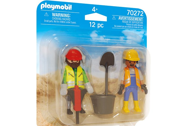 Playmobil 70272 Duo Pack Obreros playmobil
