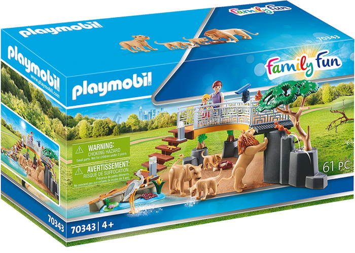 Playmobil Recinto Leones del Zoo playmobil