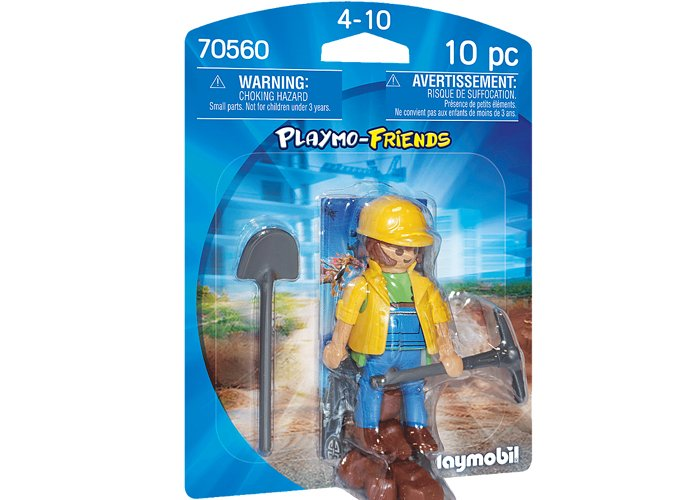 Playmobil 70560 Obrero Playmo-Friends playmobil