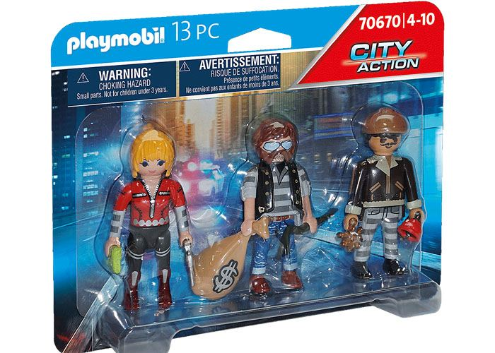 Playmobil 70670 Set Figuras Ladrones playmobil