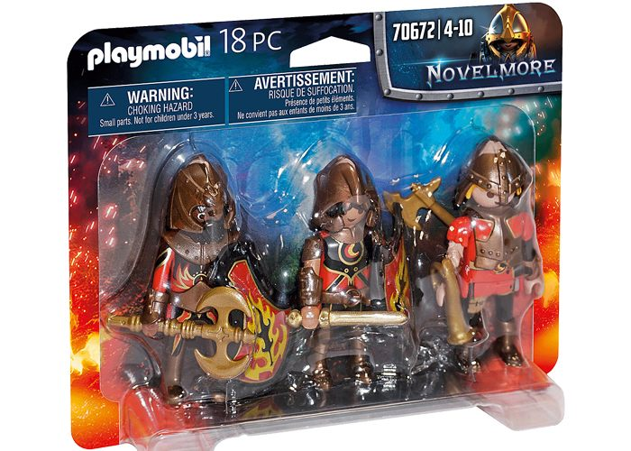 Set de 3 Bandidos de Burnham playmobil
