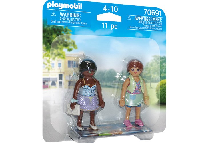 Playmobil Duo Pack Chicas de compras playmobil