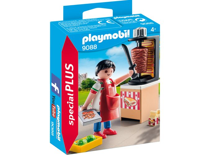 Playmobil Special Plus Vendedor de Kebab playmobil
