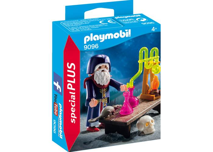 Playmobil 9096 Mago con laboratorio playmobil
