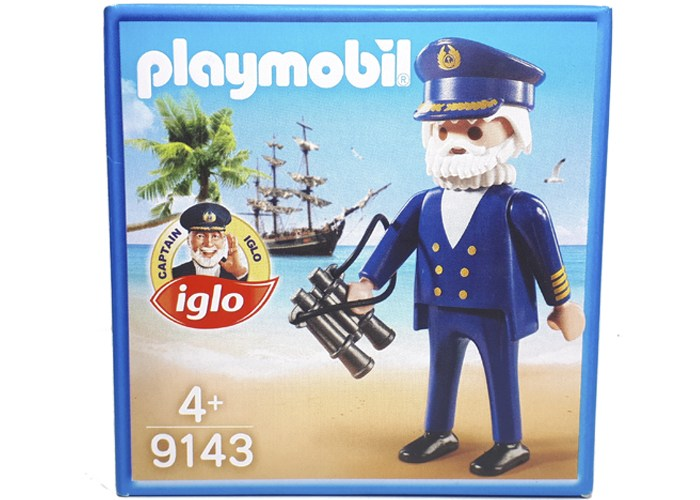 Playmobil 9143 Capitan Iglo Exclusivo playmobil