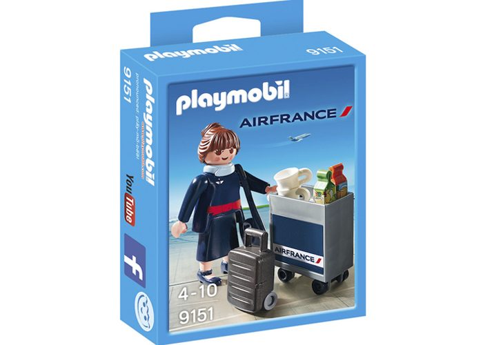 Playmobil Exclusiva Azafara Air France playmobil