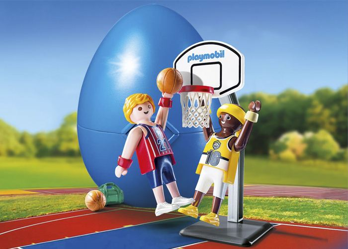 Playmobil Duelo de Basket Baloncesto playmobil