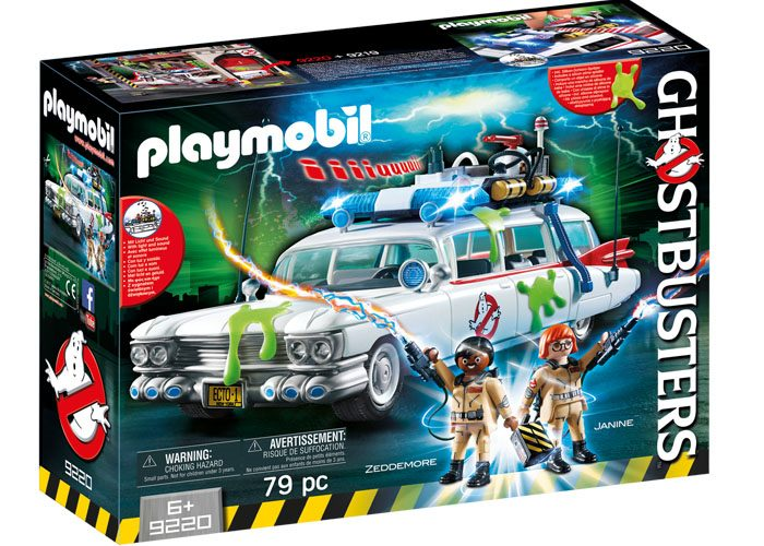 Playmobil Coche Ecto-1 Ghostbuster playmobil