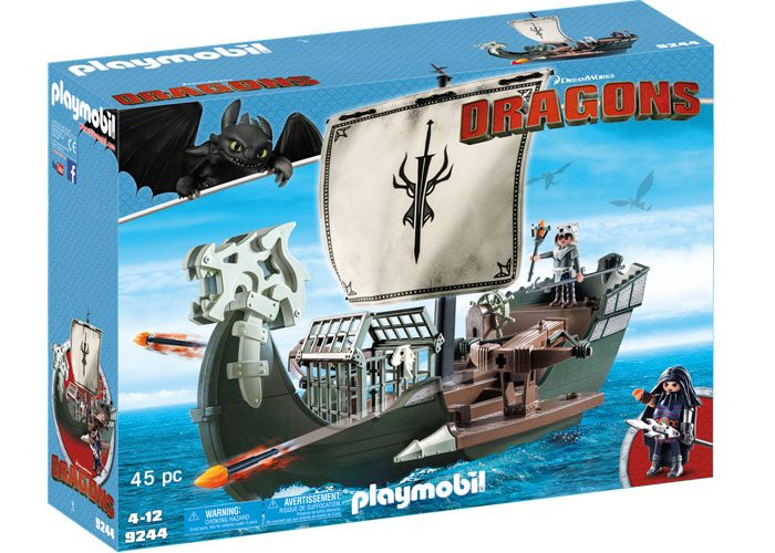 Playmobil Dragons Barco de Drago playmobil