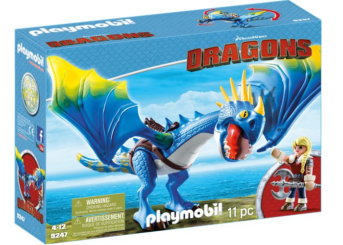 Playmobil Dragons Astrid y Tormenta playmobil