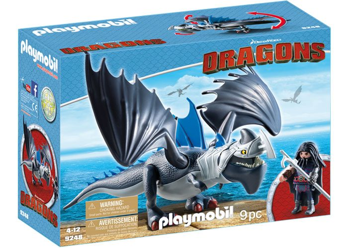 Playmobil Dragons Drago y Salvajibestia playmobil