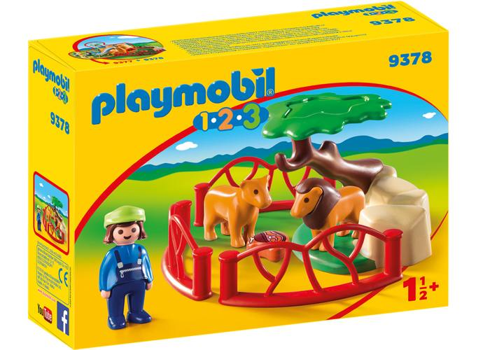Playmobil 1 2 3 Zoo de Leones playmobil