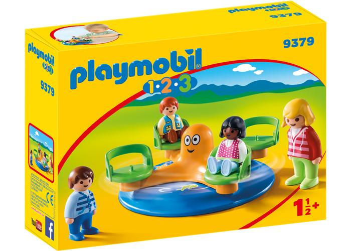 Playmobil 1 2 3 Carrusel de niños playmobil