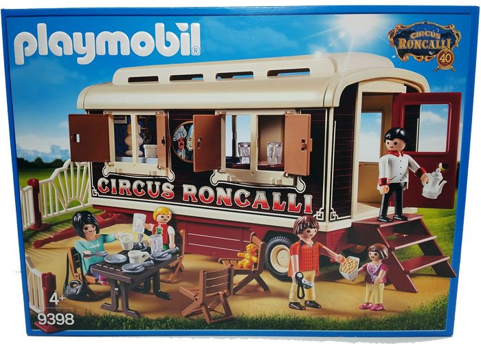 Playmobil 9398 Exclusiva Caravana Cafe Circo Roncalli playmobil