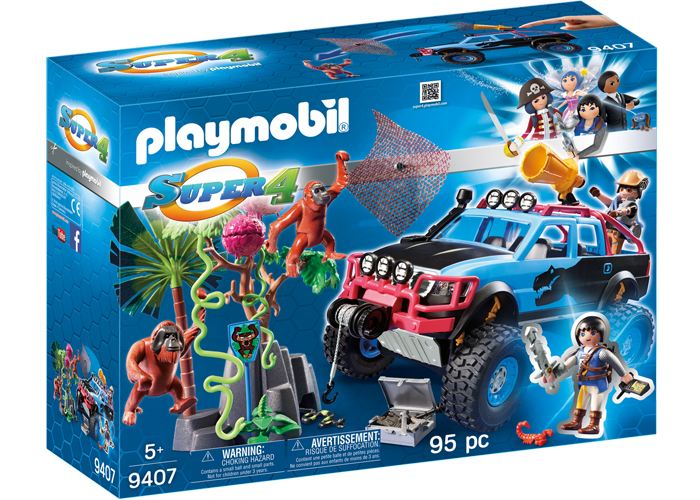 Playmobil Monster Truck con Alex y Rock Brock playmobil