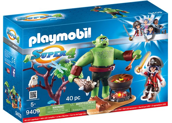 Playmobil 9409 Ogro con Ruby playmobil