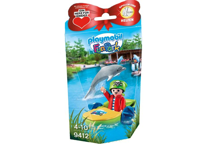 Playmobil Exclusivo Pirata Rico FunPark playmobil