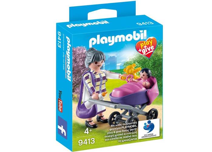 Playmobil 9413 Give & Play Abuela con niña playmobil