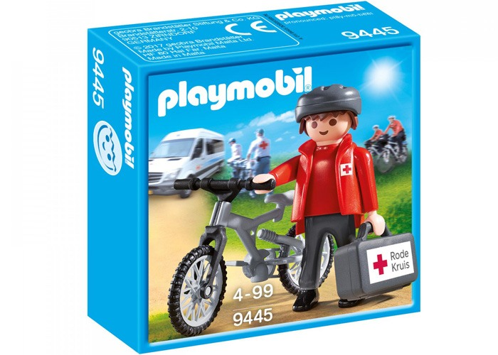 Playmobil 9445 Figura Exclusiva Cruz Roja playmobil