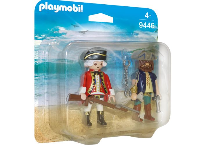 Playmobil 9446 Dúo Pack Pirata y Soldado playmobil