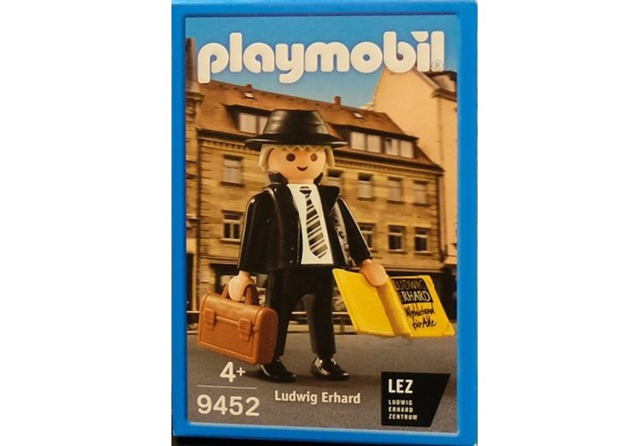 Playmobil 9452 Ludwig Erhard Exclusivo playmobil