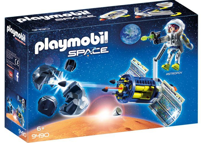 Playmobil 9490 Destructor de Meteoritos SPACE playmobil