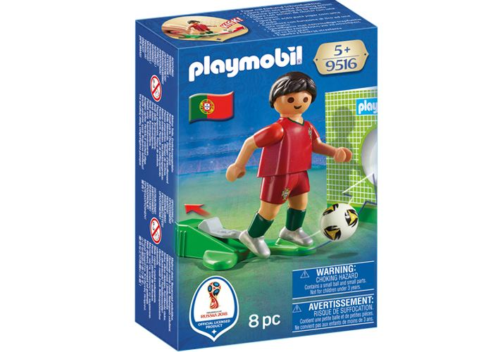 Playmobil 9516 Futbolista Portugal playmobil