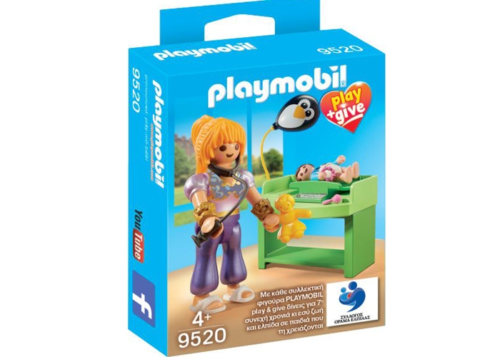 Playmobil 9520 Chica Pediatra Mágico Exclusivo playmobil