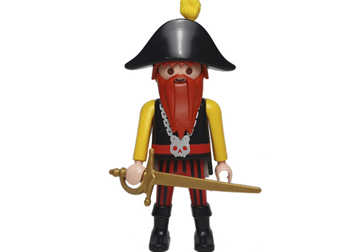 Playmobil Pirata Barba Roja playmobil