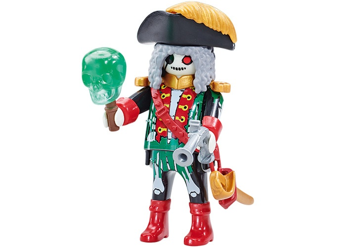 Playmobil Pirata Fantasma Capitan playmobil